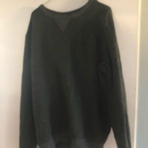 Forever 21 Sweaters - Olive green & gray forever21 men's XL sweater